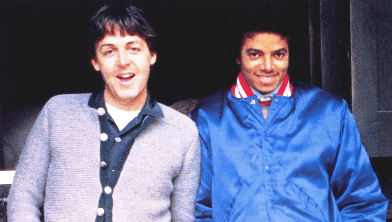 Michael Jackson y Paul McCartney Say Say Say