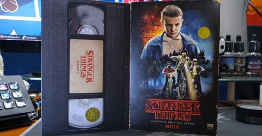 Vídeo VHS Stranger Things