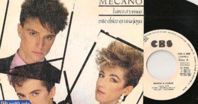 Mecano — «Barco a Venus»