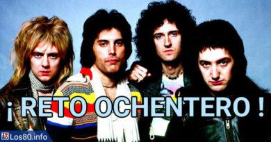 RETO OCHENTERO - Queen y Freddie Mercury